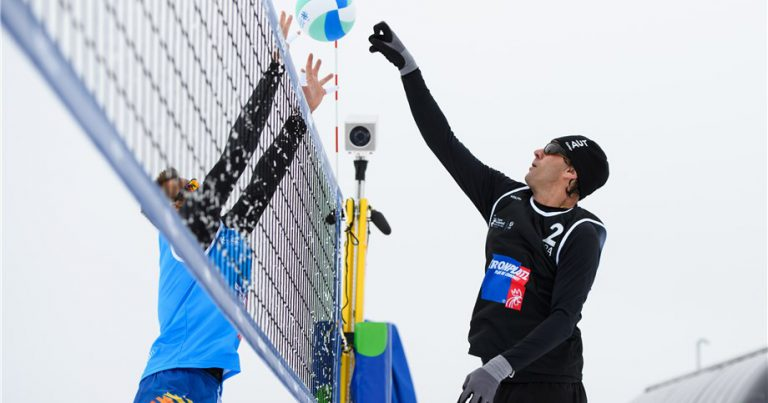 GIBA SET TO SHOW OFF SKILLS AT SNOW VOLLEYBALL FESTIVAL