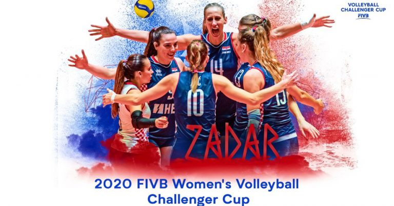 CROATIA TO HOST THE FIVB WOMEN'S VOLLEYBALL CHALLENGER CUP 2020