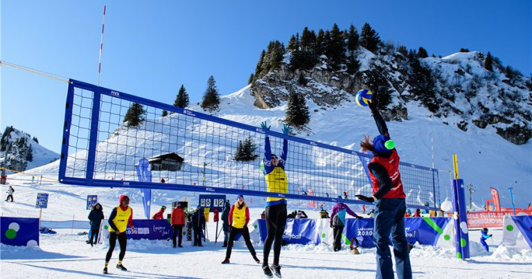 FIVB CELEBRATES WORLD SNOW DAY WITH SUCCESSFUL CONCLUSION OF SNOW VOLLEYBALL FESTIVAL