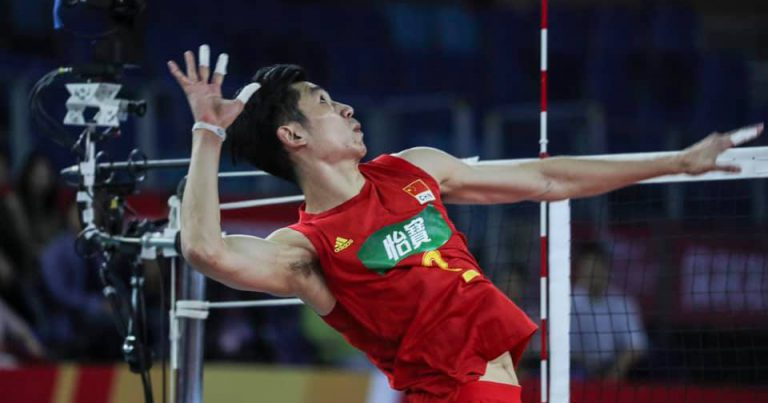 HOSTS CHINA CRUISE PAST KAZAKHSTAN FOR FIRST WIN AT AVC MEN'S TOKYO QUALIFICATION