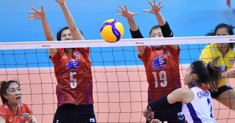 THAILAND CLAIM OPENING WIN OVER CHINESE TAIPEI AT AVC WOMEN'S TOKYO VOLLEYBALL QUALIFICATION