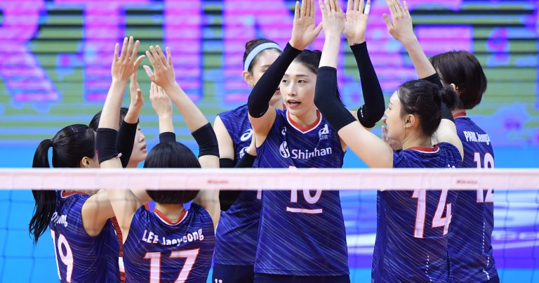 KOREA SWEEP IRAN TO SECURE A SEMIFINAL SPOT AT AVC WOMEN'S TOKYO VOLLEYBALL QUALIFICATION