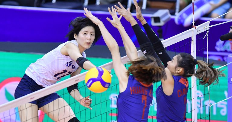 KOREA CRUISE PAST CHINESE TAIPEI 3-1 TO ENTER AVC WOMEN'S TOKYO VOLLEYBALL QUALIFICATION FINAL