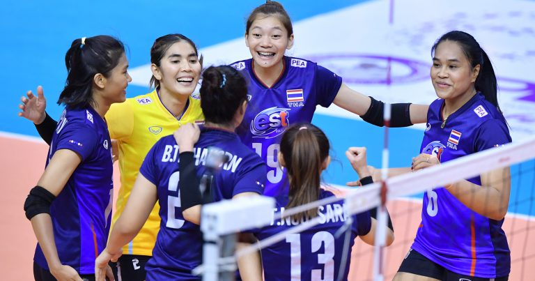 THAILAND SET CLASH WITH KOREA AT AVC WOMEN'S TOKYO VOLLEYBALL QUALIFICATION FINAL