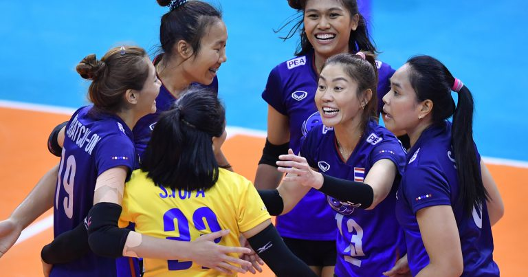 THAILAND EDGE PAST KAZAKHSTAN TO SET UP FINAL CLASH WITH KOREA AT AVC WOMEN'S TOKYO VOLLEYBALL QUALIFICATION