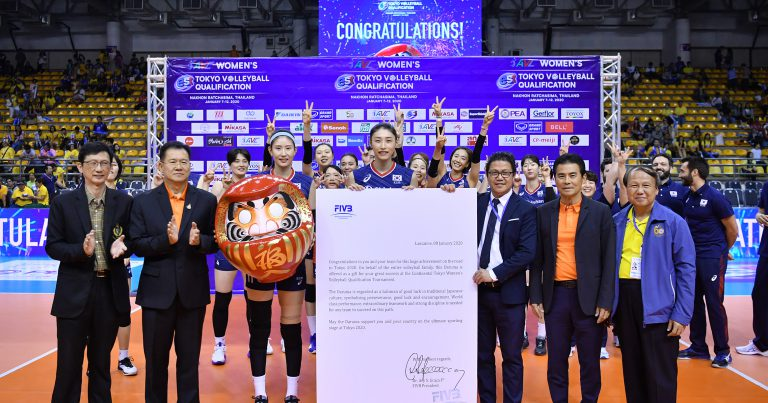 KOREA CAPTURE THE OLYMPIC TICKET AFTER VICTORY OVER THAILAND