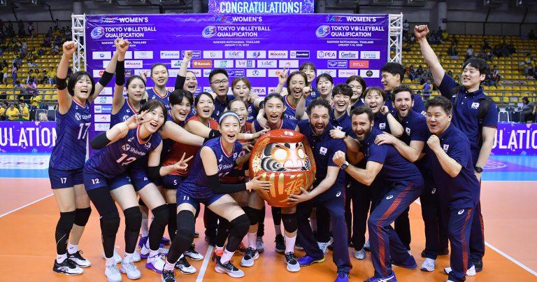 KOREA OUTCLASS THAILAND 3-0 TO ENTER TOKYO OLMPIC GAMES