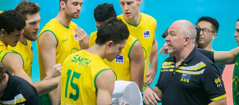 VOLLEYROOS HEAD COACH MARK LEBEDEW TO STEP DOWN