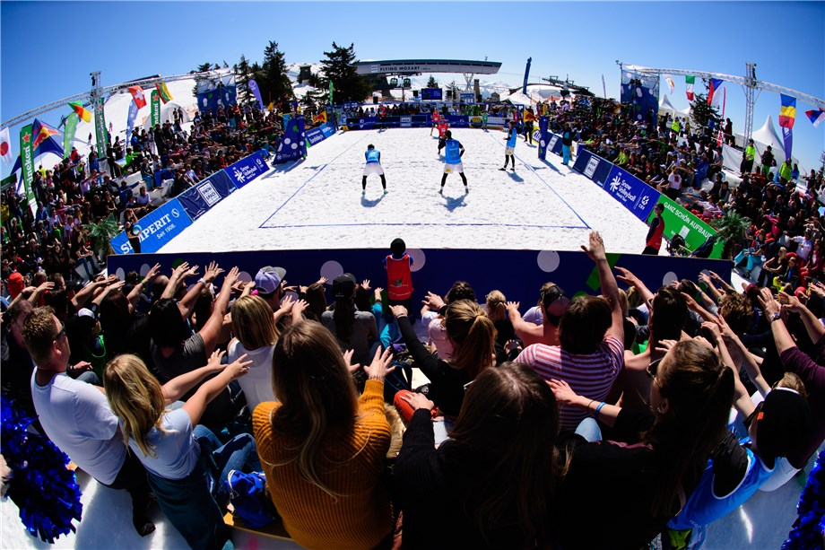 FIVB ANNOUNCES SNOW VOLLEYBALL WORLD TOUR 2020