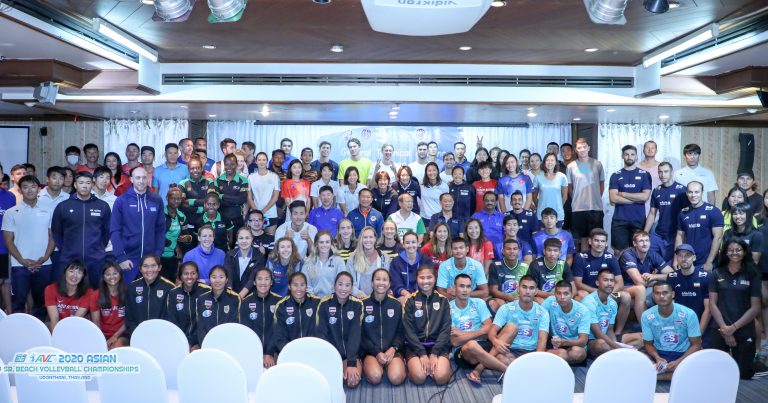 ASIAN SENIOR BEACH VOLLEYBALL CHAMPIONSHIPS ALL SET TO KICK OFF IN UDON THANI