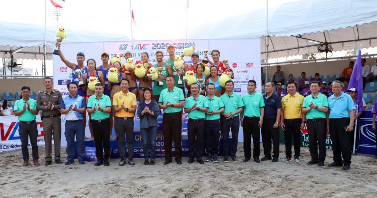 AUSTRALIA AND CHINA SHARE HONOURS AT ASIAN SENIOR BEACH VOLLEYBALL CHAMPIONSHIPS IN UDON THANI