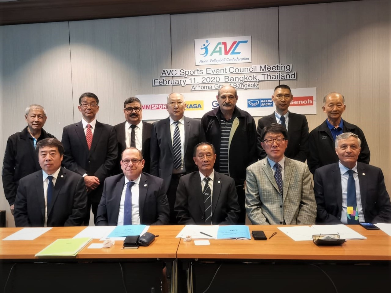 AVC SPORTS EVENTS COUNCIL REVIEWS TASKS COMPLETED AND DISCUSSES FUTURE CHALLENGES