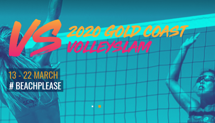 AUSTRALIA LAUNCHES OFFICIAL WEBSITE FOR 2020 GOLD COAST VOLLEYSLAM FESTIVAL