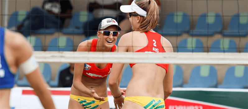 TWO AUSTRALIAN VOLLEYBALL ACADEMY PLAYERS MAKE SENIOR DEBUT AT CONCLUDED ASIAN BV CHAMPIONSHIPS IN THAILAND