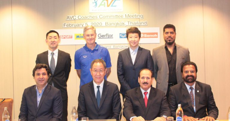 AVC COACHES COMMITTEE MEETING FOCUS ON INTERACTIONS AND COOPERATION