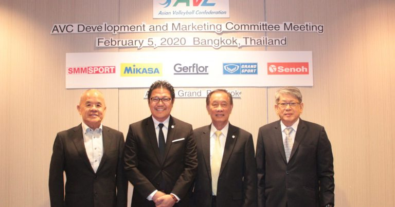 FIVB PROJECT PLATFORM KEY TOPIC DISCUSSED AT AVC DMC MEETING