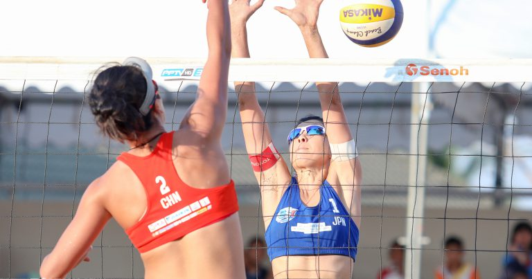 ASIAN SENIOR BEACH VOLLEYBALL CHAMPIONSHIPS REACH CLIMAX WITH HIGHLY-ANTICIPATED SHOWDOWNS ON SUNDAY