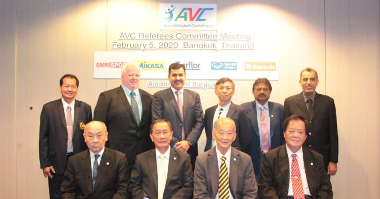 REFEREE CATEGORISATION, REFEREE EDUCATION AND NEW TECHNOLOGICAL REQUIREMENTS HIGHLIGHTED AT AVC RC MEETING