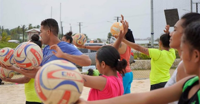 FIVB NUCLEUS PLAN CHANGING THE GAME IN TONGA