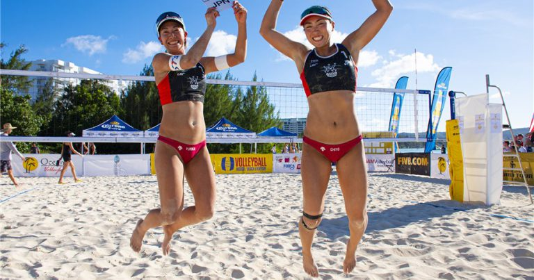 CHIYO BECOMES ALL-TIME PODIUM LEADER FOR JAPAN WITH WIN AT GUAM BEACH CUP
