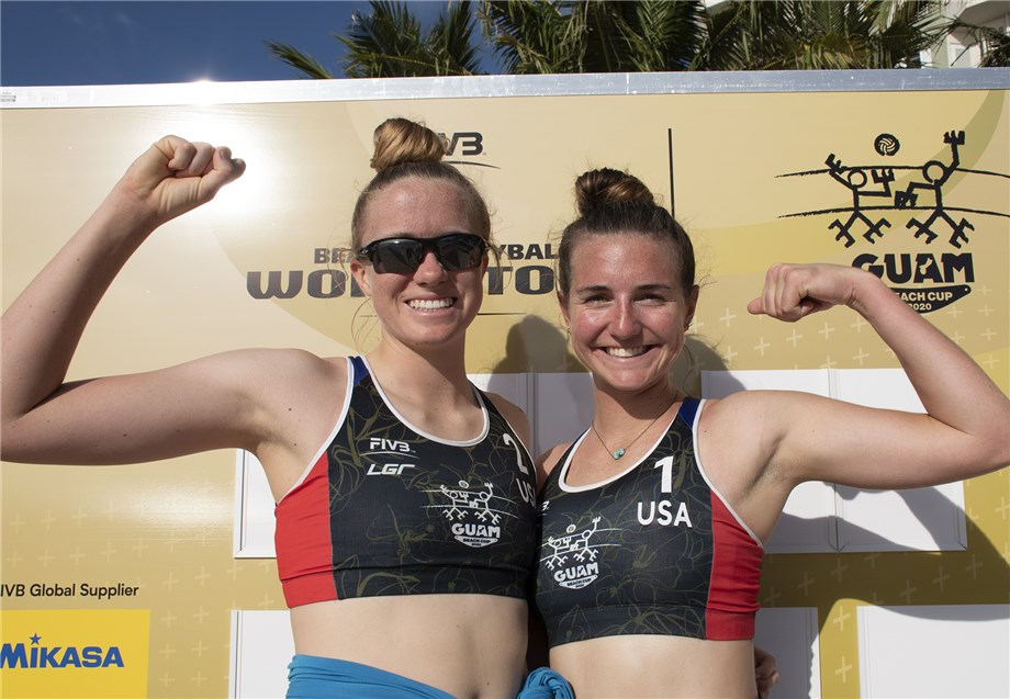 USA, JAPAN PAIRS ADVANCE TO MAIN DRAW IN GUAM