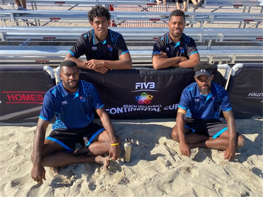 FIJI WINS OPENING OCEANIA CONTINENTAL CUP MATCH