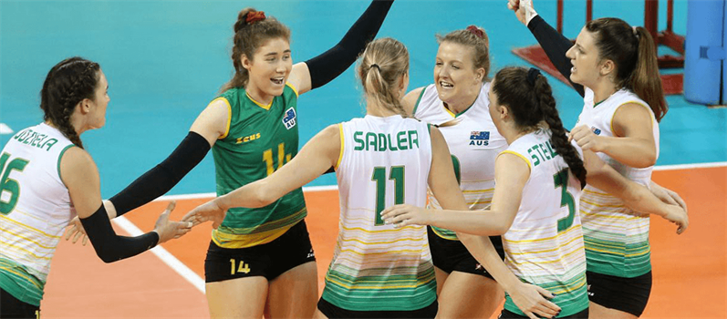 AUSTRALIAN WOMEN'S VOLLEYBALL TEAM OPTIMISTIC ABOUT FUTURE