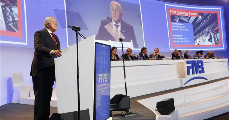 THE 37TH FIVB WORLD CONGRESS RESCHEDULED FOR EARLY 2021