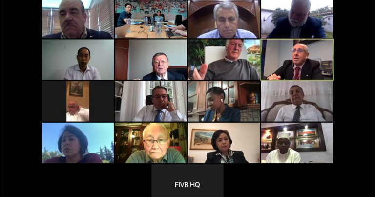 FIVB EXECUTIVE COMMITTEE MEETING HELD VIA VIDEOCONFERENCE