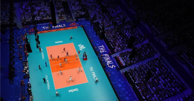 "FIVB PRESIDENT: ""VNL SHOWCASES THE VERY BEST OF VOLLEYBALL, ENCOURAGING INNOVATION AND FRESH-THINKING."""