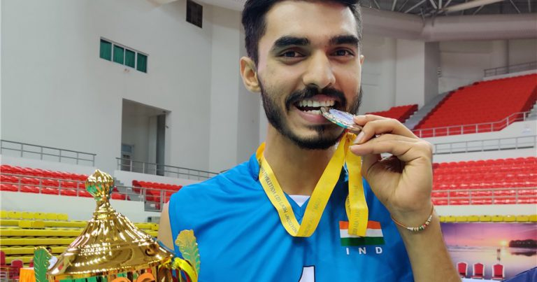 AMIT GULIA HOPES FOR INDIA'S VOLLEYBALL RENAISSANCE