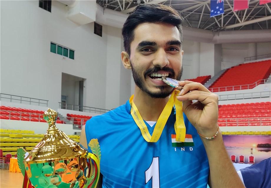 AMIT GULIA HOPES FOR INDIA'S VOLLEYBALL RENAISSANCE