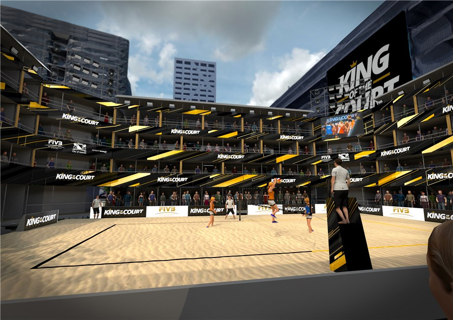 KING OF THE COURT RETURNS AS FIRST POST-LOCKDOWN INTERNATIONAL EVENT
