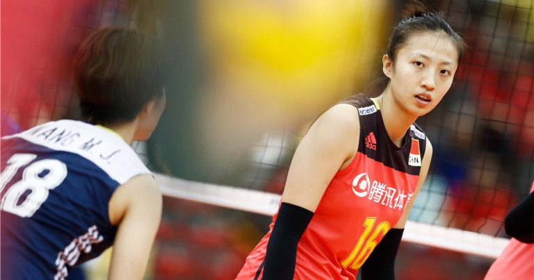 DING XIA: BACKBONE OF CHINESE VOLLEYBALL
