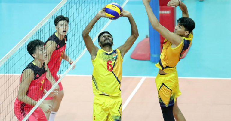 SETTER MUTHUSAMY MAKES POSITIVE IMPACT ON INDIAN VOLLEYBALL