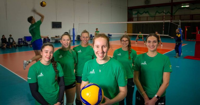 VOLLEYROOS TAKING IT TO THE MEN IN CANBERRA LEAGUE