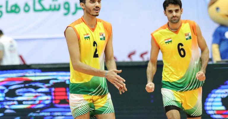AMIT BRINGS HOPE FOR FUTURE OF INDIAN VOLLEYBALL