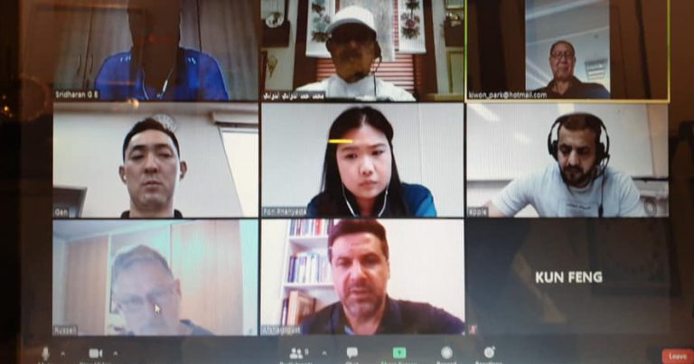 AVC CC HOLDS VIDEO CONFERENCE MEETING TO CONSIDER CANDIDATE SELECTION CRITERIA