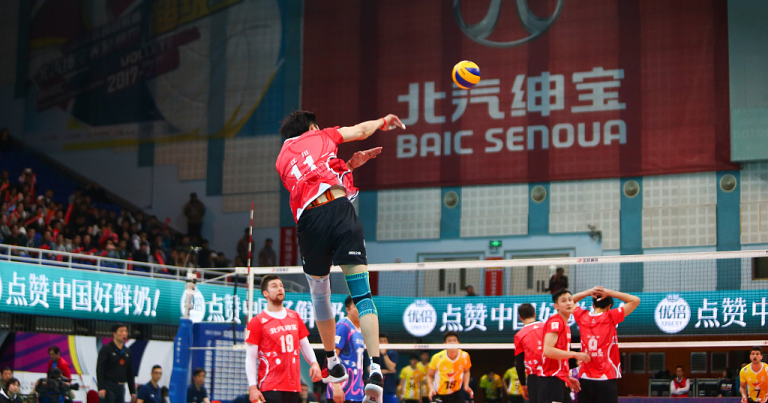 CHINESE MEN'S VOLLEYBALL LEAGUE READY TO RESUME ON THURSDAY