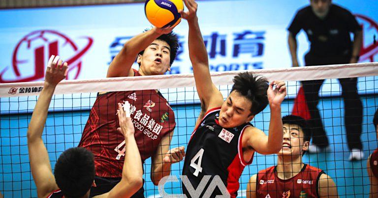 JIANGSU INTO SEMI-FINALS OF CHINESE MEN'S VOLLEYBALL LEAGUE