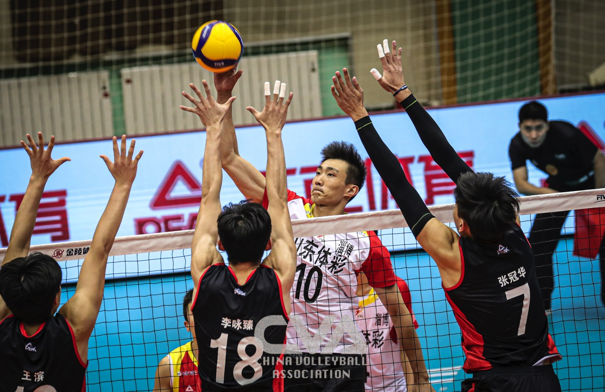 SHANDONG STORM INTO SEMI-FINALS OF CHINESE MEN'S VOLLEYBALL LEAGUE