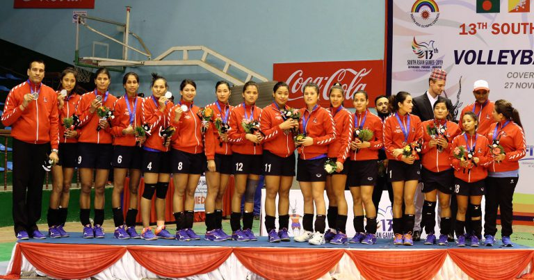 BHATTA TAKES CREDIT FOR SIGNIFICANT SUCCESS OF NEPAL WOMEN'S VOLLEYBALL TEAM