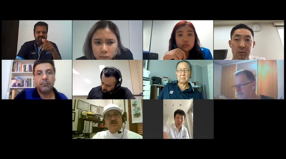 AVC COACHES COMMITTEE CONDUCTS VIDEO INTERVIEW WITH 10 CANDIDATES