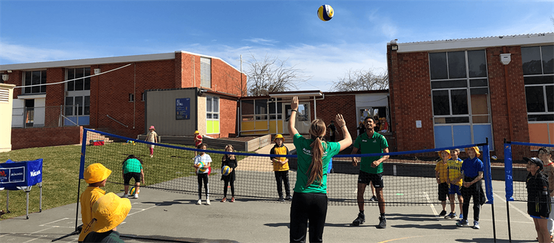 VOLLEYBALL AUSTRALIA DELIVERING DEVELOPMENT PROGRAMS TO SCHOOLS