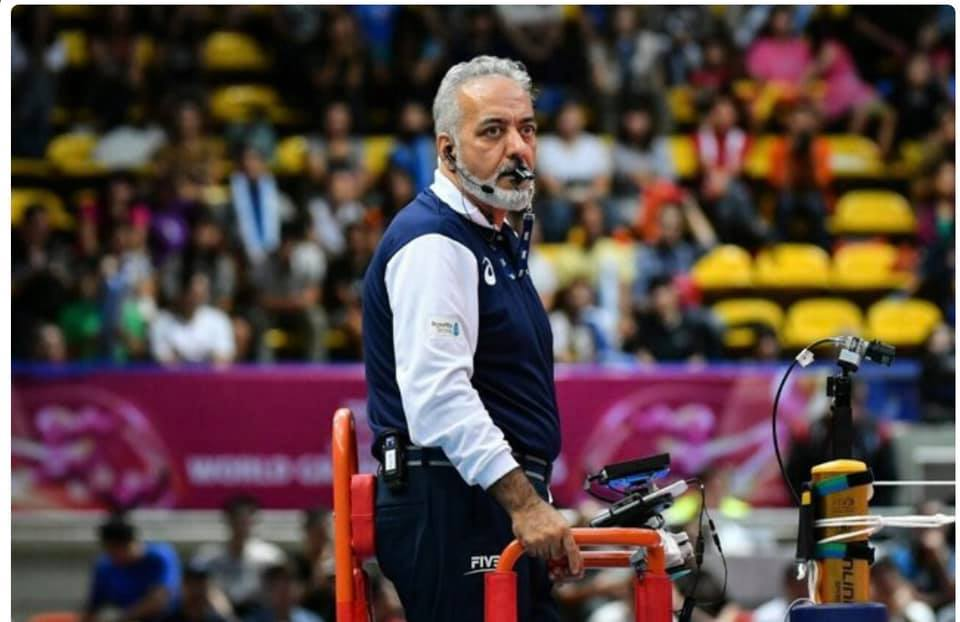 SHAHMIRI BECOMES LONGEST-SERVING VOLLEYBALL REFEREE