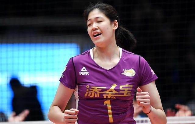 STAR SPIKER LI YINGYING SPEARHEADS TIANJIN'S LINEUP AT CHINESE NATIONAL VOLLEYBALL CHAMPIONSHIP
