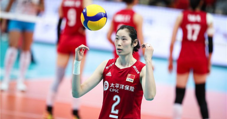 CHINESE VOLLEYBALL STAR ZHU TING EYES ACADEMIC SUCCESS ASIDE FROM OLYMPIC CHALLENGES