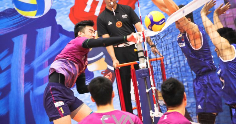 SHANGHAI DEFEAT JIANGSU TO SNATCH GAME 1 IN CHINESE MEN'S VOLLEYBALL LEAGUE FINALS