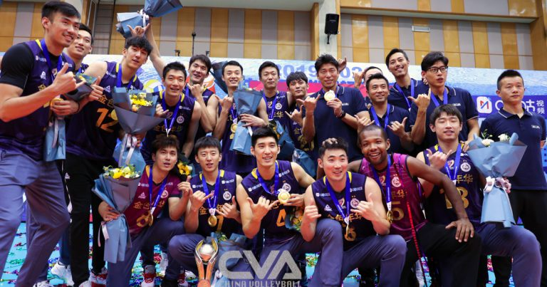 SHANGHAI WIN SIXTH CONSECUTIVE TITLE IN CHINESE MEN'S VOLLEYBALL LEAGUE