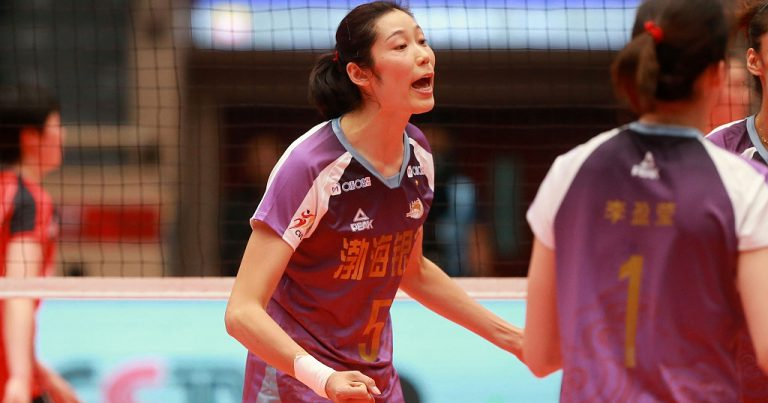 CHINESE STAR SPIKER ZHU TING EXTENDS STAY AT TIANJIN
